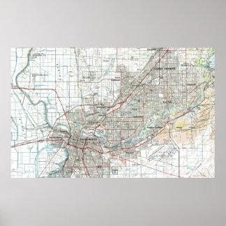 Sacramento Kalifornien karta (1994) Poster