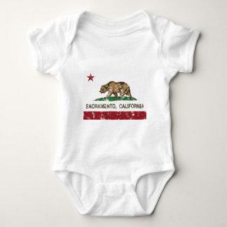 sacramento Kalifornien statlig flagga T-shirts
