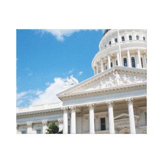 Sacramento statlig huvudstad av Kalifornien Canvastryck