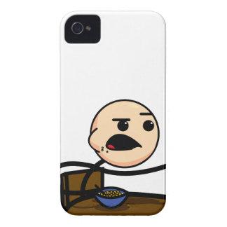 Sädes- grabbblackberry fodral iPhone 4 Case-Mate case