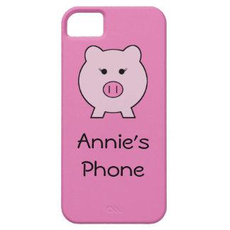Sadie den rosa grisen iPhone 5 hud