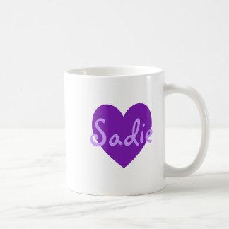 Sadie i lilor kaffemugg