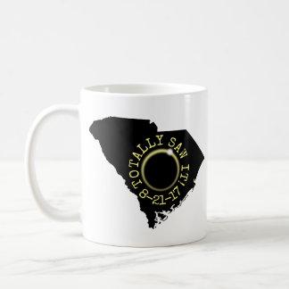 Såga totalt det den sol- förmörkelsen South Kaffemugg