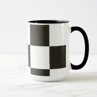 Sagan om ringen-mugg. svart/vitt mugg