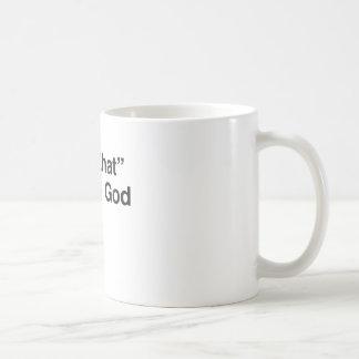 """""""Sågar jag det"""" - guden Kaffemugg"""