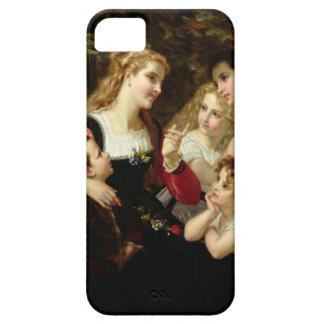 Sagoberättaren 1874 olja på kanfas iPhone 5 skal