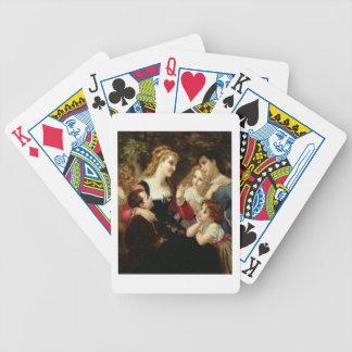 Sagoberättaren, 1874 (olja på kanfas) spelkort