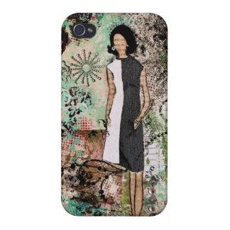 Sagolik konst av Janelle Nichol iPhone 4 Fodraler