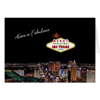 Sagolik Las Vegas julkort Hälsnings Kort