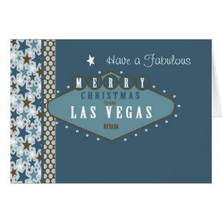 Sagolik Las Vegas julkort Hälsningskort