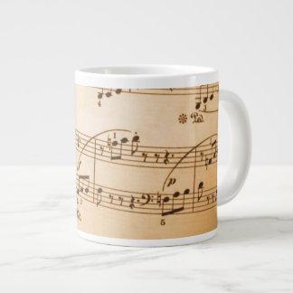 Sagolik mugg för musikälskare jumbo mugg