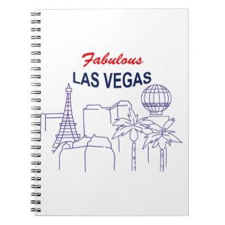 Sagolika Las Vegas Anteckningsbok