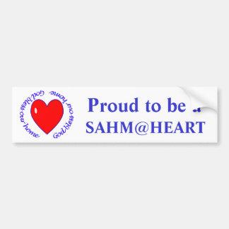 sahm@heart - välsigna dig vår hem- bildekal