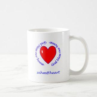 sahm@heart - välsigna dig vår hem- mugg