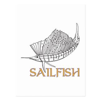 Sailfish Vykort