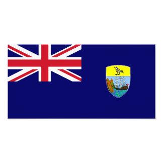 Saint Helena flagga Fotografiskt Tryck