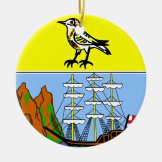 SAINT HELENA *, södra atlantisk julprydnad Julgransprydnad Keramik