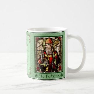 Saint patrick - irländsk välsignelse kaffemugg