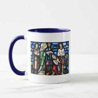 Saint patrick och hans anhängare mugg