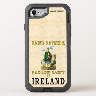 SAINT PATRICK (skyddshelgon av Irland) OtterBox Defender iPhone 7 Skal