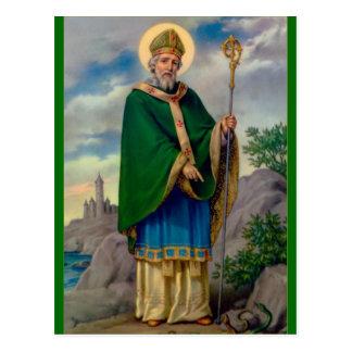 Saint patrick vykort