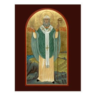 Saint patrickbönkort vykort