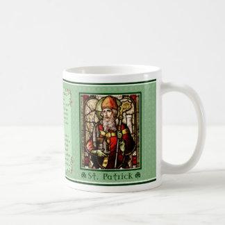 Saint patrickbönmugg kaffemugg