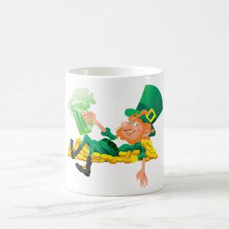 Saint patrick's day kaffemugg