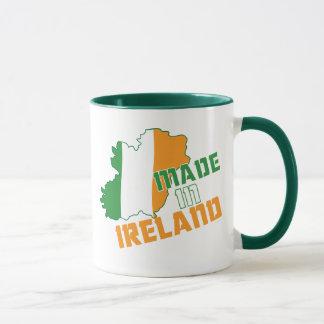 Saint patrick's day som göras i den Irland T-tröja Mugg