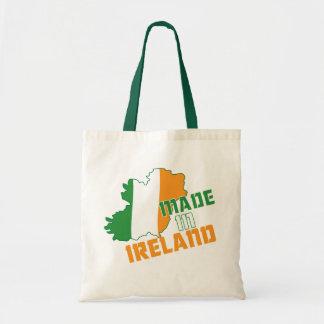 Saint patrick's day som göras i den Irland T-tröja Tygkasse