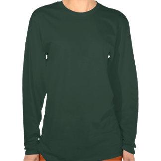 Saint patrick's daylångärmadkvinna T-tröja