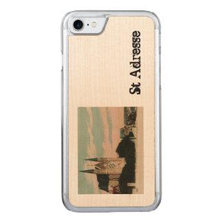 Sainte Adresse vykortdesign Carved iPhone 7 Skal