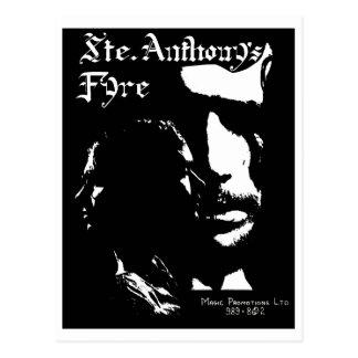Sainte Anthonys Fyre musikband - 1970 Vykort
