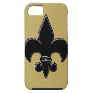 Saints Fleur De Lis iPhone 5 Case-Mate Fodraler