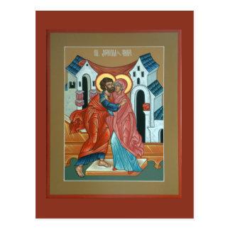 Saints Joachim och Anna vykort