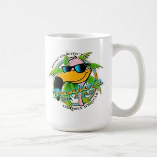 Säkerhetsbrytares Svart-Kaffe endast mugg