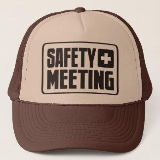 Säkerhetsmötetruckerkeps Truckerkeps