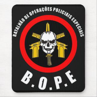 Sakkunnigpolisstyrka för BOPE Tropa De Elit Musmatta