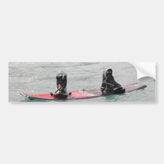 Saknad Wakeboarderbildekal Bildekal