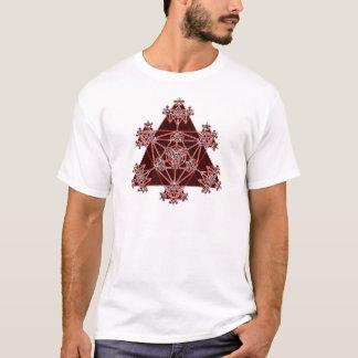 Sakral geometri: Röda trianglar: T Shirts