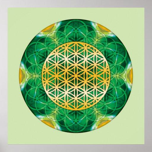 Sakral geometriMandala 1 Print