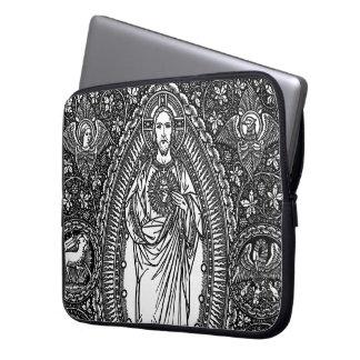Sakral hjärta av Jesus: Generisk laptop sleeve