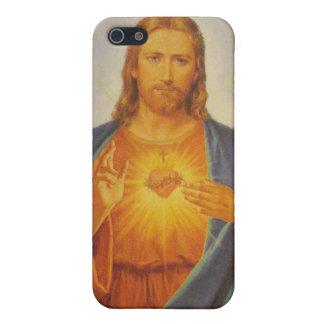 Sakral hjärta av Jesus iPhone 5 Cases