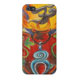 Sakral hjärtadesign av Dana Tyrrell iPhone 5 Skal