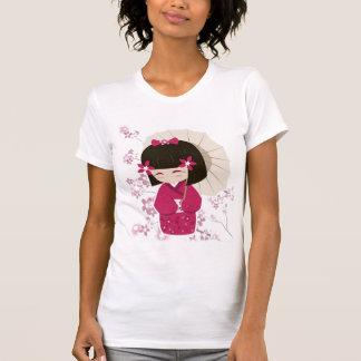 Sakura Kokeshi docka Tshirts