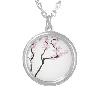 sakura med den rosa guldfisken, tony fernandes silverpläterat halsband
