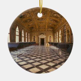 Salaen Dorata som byggas 1537-88 (fotoet) Julgransprydnad Keramik