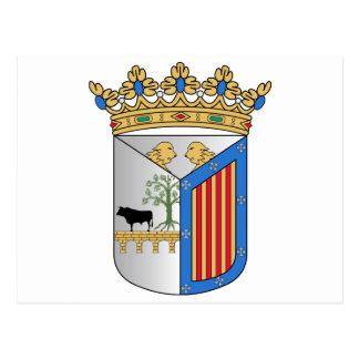 Salamanca (Spanien) vapensköld Vykort