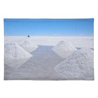 Salar de Uyuni salt lägenhetbordstablett Bordstablett