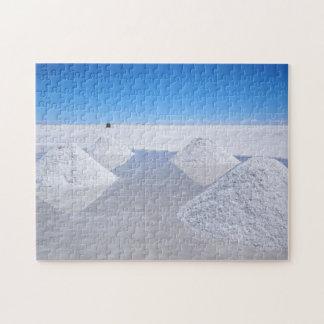 Salar de Uyuni salt lägenhetpussel Pussel